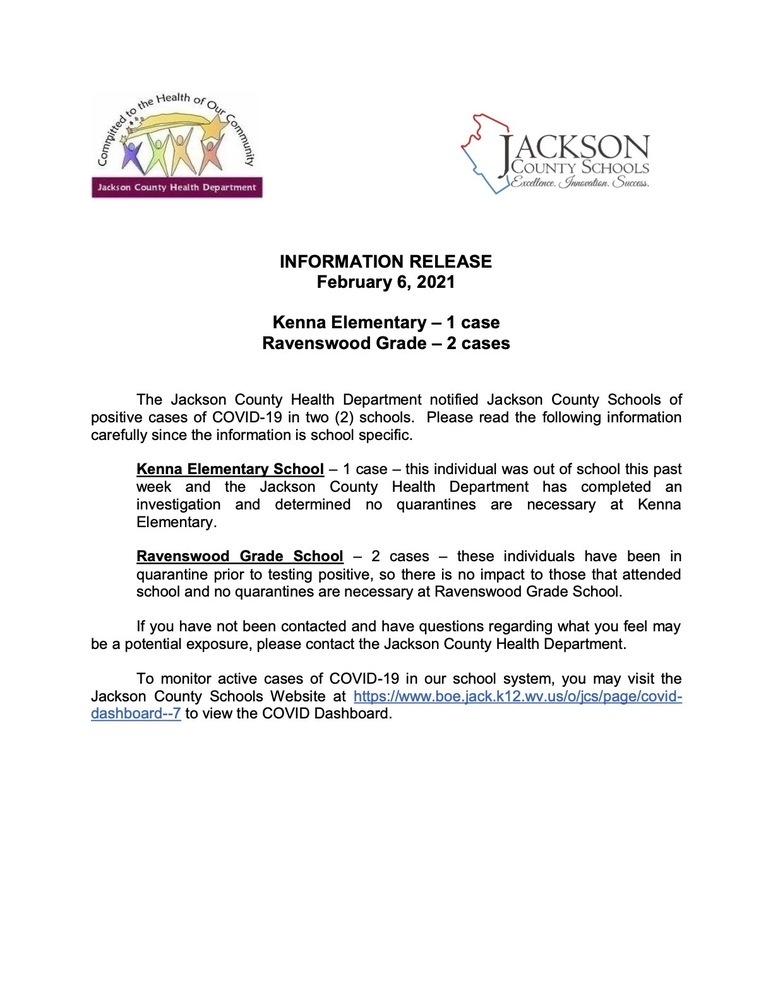 Information Release - February  6, 2021 - Kenna and Ravenswood Grade