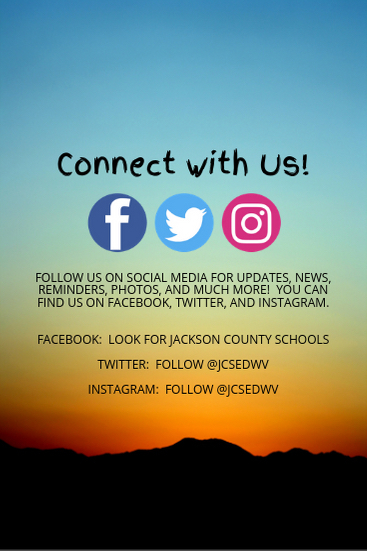 Connect with us! Social Media Information