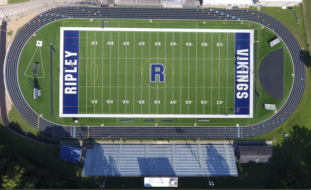 Ripley High School's track and field.
