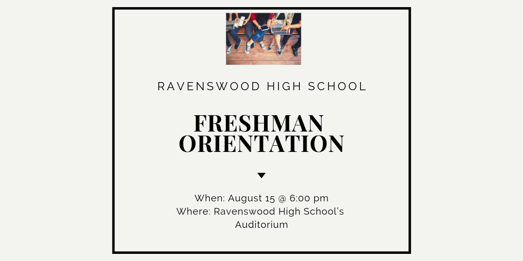 Ravenswood High School's Freshman Orientation